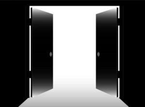 По мотивам АС. Двери